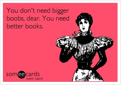 Got Boobs...er...Books?